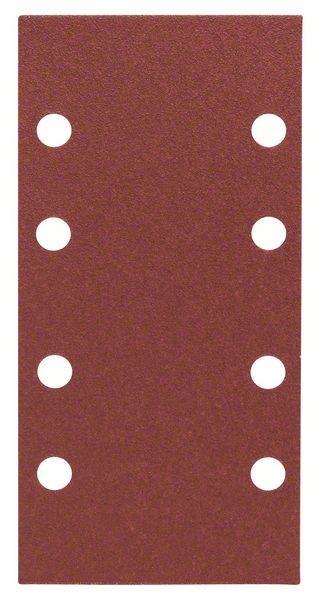 Bosch Jeu de 10 feuilles abrasives 93 x 186 mm, 100, 401