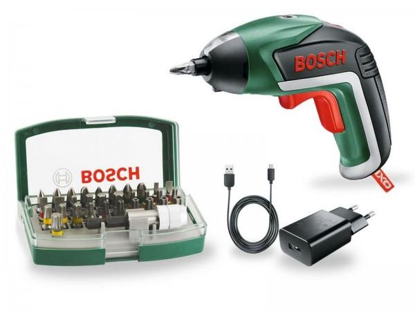 Bosch Avvitatore a batteria, set di bit IXO - 06039A800S