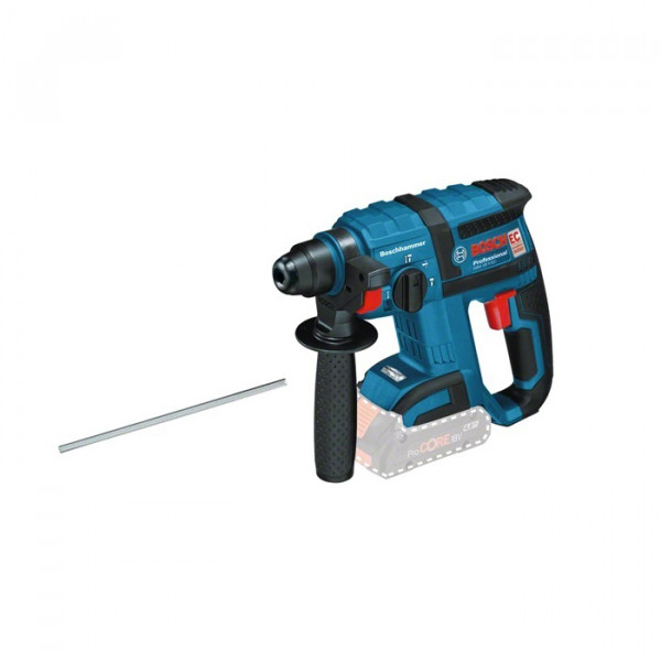 Bosch Professional Akkubohrhammer GBH 18 V-EC Professional, ohne Akku und Ladegerät - 0611904000