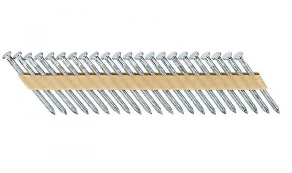 DeWALT Chiodi in stecca, ring, zincato, 60 mm, 1500 pezzi - DNM40R60HDZ