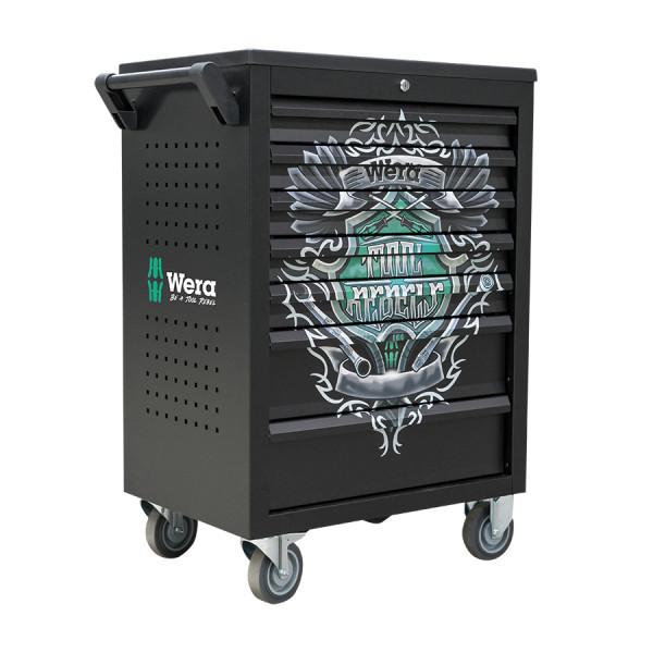 Wera Werkstattwagen bestückt Sonderedition Tool Rebels - 05501051