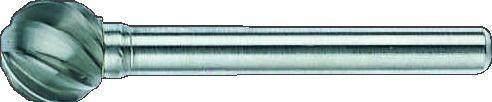 Bahco Fraise lime, sphérique, pour alu, 56mm - d1211al06
