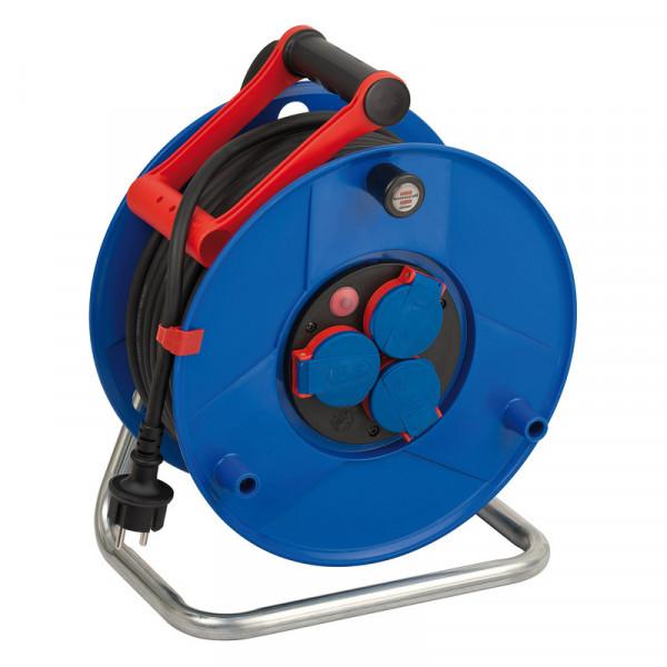 Brennenstuhl Enrollacables Garant, para la industria o construcción, IP44, 40m H07RN-F 3G1,5 - 1208380