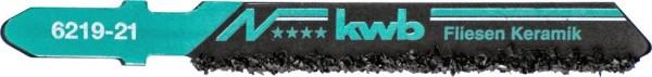 KWB Decoupeerzaagbladen HM, tegel- en keramiekbewerking, grof - 621921