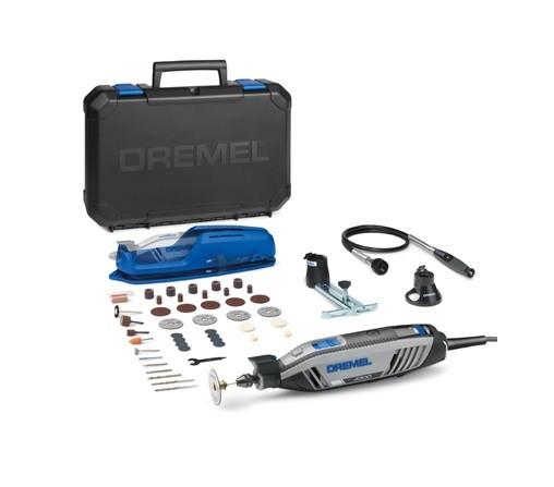 DREMEL Multifunktionswerkzeug 4300 (4300-3/45EZ) - Beleuchtet, Grenzenlos, Maximale Leistung - F0134300JA