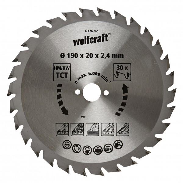 Wolfcraft Lame de scie circulaire CT, 30 dents