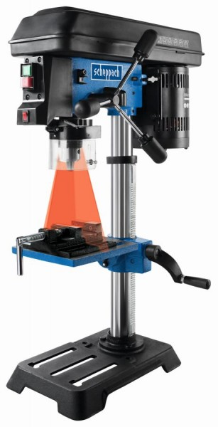 Scheppach DP16SL Ständerbohrmaschine 230V, 550 Watt inkl. Laser und Schraubstock