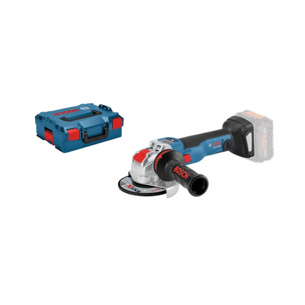 Bosch Professional Meuleuse angulaire sans fil GWX 18V-10 SC, L-BOXX, avec X-LOCK (sans batterie ni chargeur) - 06017B0400
