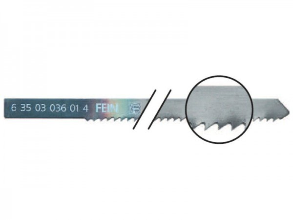 Fein Sägeblätter 5er Pack - 63503114010