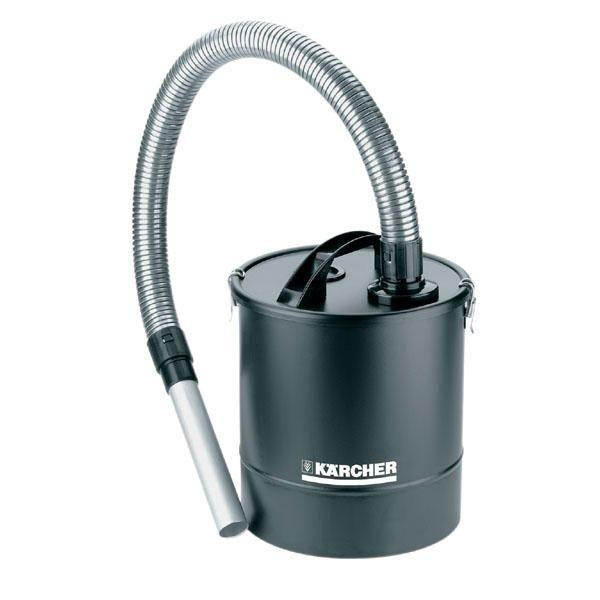 Kärcher Grobschmutz- / Aschefilter Basic 20 Liter, Metallsaugschlauch, Metallsaugrohr, für Nass-/ Trockensauger