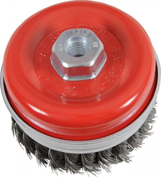 KWB AGGRESSO-FLEX® komborstel, staaldraad, Ø 0,5 mm, Ø 100 mm - 719210