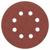 Bosch Professional  Feuille abrasive, pack de 5 125 mm, 180