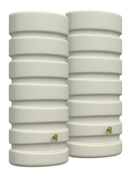 Garantia CLASSIC Wand-Tank Set 1300 L sandbeige - 295625