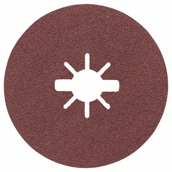 Bosch Prisma Ceramic Fiberscheiben, R781 Metall, 125 x 22,23 mm, X-LOCK, K 60 - 2608621795