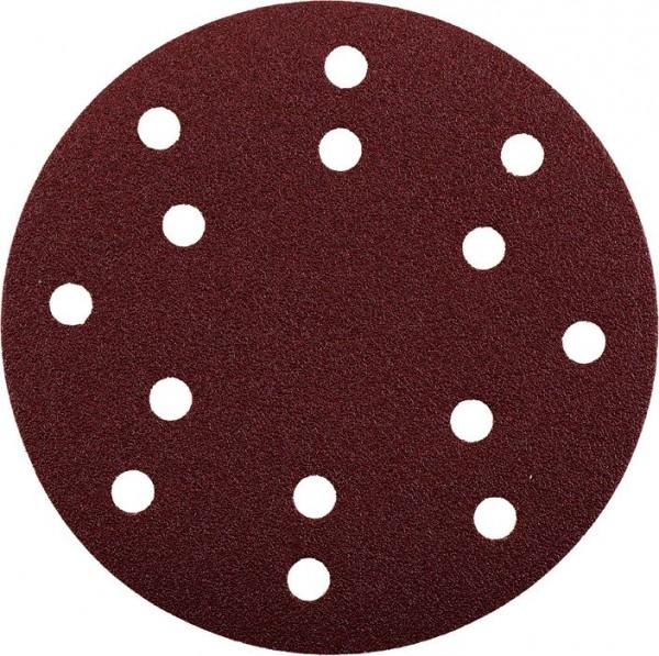 KWB QUICK-STICK schuurschijven, HOUT & METAAL, edelkorund, Ø 150 mm, geperforeerd - 542012
