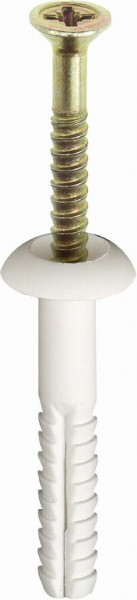 TOX Fissaggio supporto metallico Attack Metal 6x35mm, 50 pezzi - 19102131