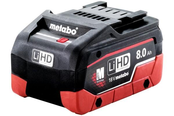 Metabo Akkupack LiHD 18 V - 8,0 Ah - 625369000