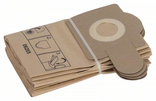Bosch Papierfilterbeutel, passend zu PAS 11-21, PAS 12-27 und PAS 12-27 F