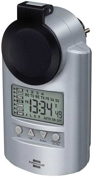 Brennenstuhl Zeitschaltuhr Wochenzeitschaltuhr Primera-Line Digitale DT IP 44