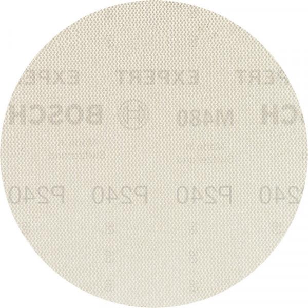 Bosch Professional EXPERT M480 Schleifnetz für Exzenterschleifer, 150mm, G 240, 50Stück - 2608900704