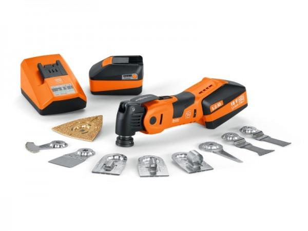 Fein Oszillierer - Akku AFSC 18 QSL - FEIN Profi-Set Heizungs-/Sanitär-Installation / - 71292768000