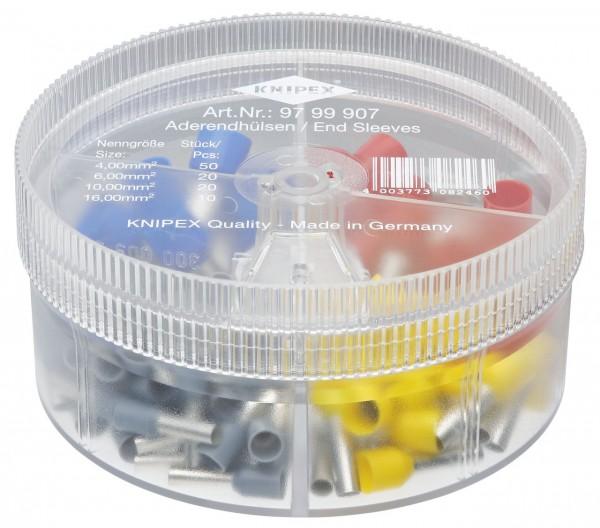 Knipex Boîtier d'assortiment avec embouts de câble isolés - 97 99 907