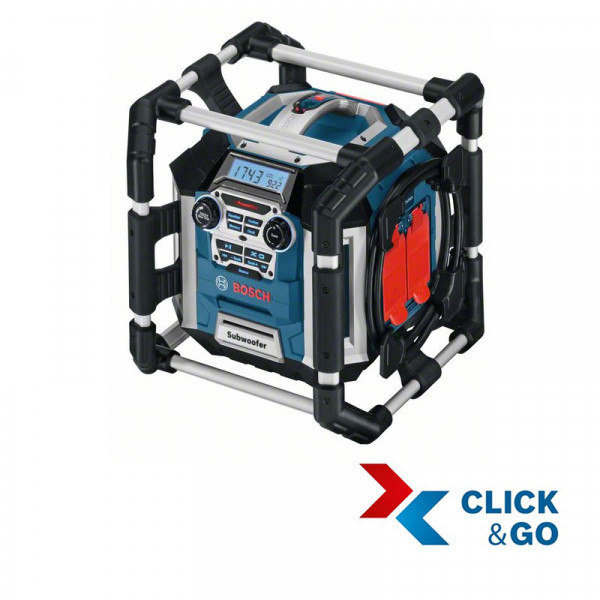 Bosch Professional Chargeur radio GML 50 Professional (sans batterie ni chargeur) - 0601429600