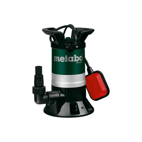 Metabo Bomba sumergible para aguas sucias PS 7500 S, Cartón - 0250750000