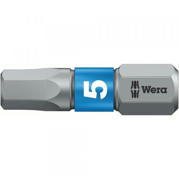Wera 840/1 Embouts Hex-Plus BTZ, 6,0 x 25 mm - 05056687001