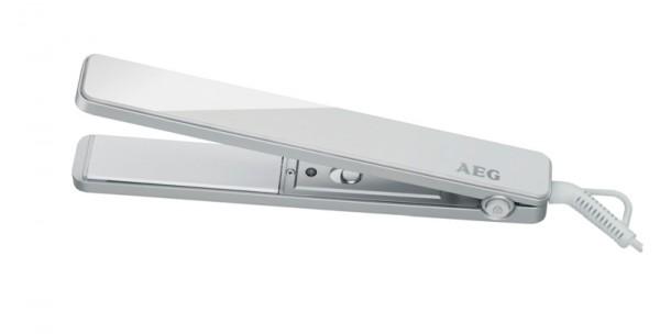 AEG HC 5639 Piastra agli ioni, Bianco, Nero