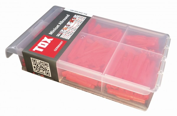 TOX Assortimento standard Miniset Allround 240 pz - 94900081
