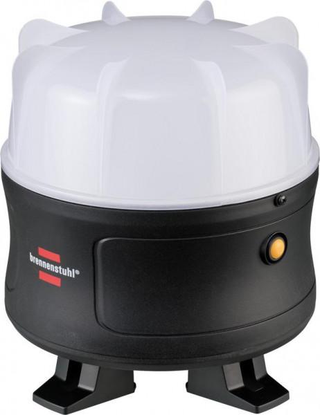 Brennenstuhl Akku LED Baustrahler mit 360° Rundumbeleuchtung / Bauscheinwerfer 30W, mit Li-lon Akku 11,1 V/4,4 Ah - 1171410301