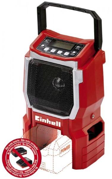 Einhell Akku-Radio TE-CR 18 Li ohne Akku und Ladegerät - 3408015