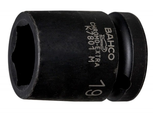 """Bahco EMBOUT DE DOUILLE 1/2 MACHINE, 6 PANS, 9MM - K7801M-9"""""""