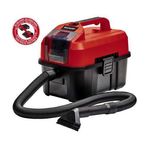 Einhell Aspirateur eau et poussière sans fil, TE-VC 18/10 Li-Solo, sans batterie et chargeur - 2347160