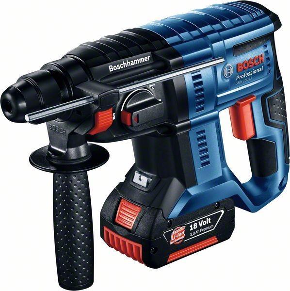 Bosch Professional Akku-Bohrhammer mit SDS plus GBH 18V-20, Solo Version - 0611911000