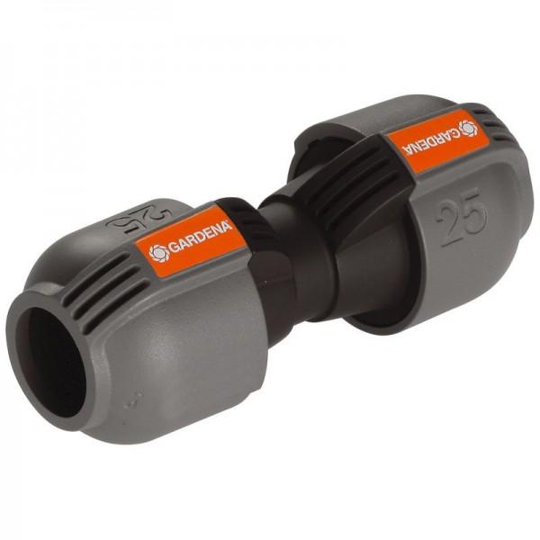 Gardena Quick & Easy -Schnellverbindungstechnik Verbinder 25 mm - Zur Rohrverlängerung