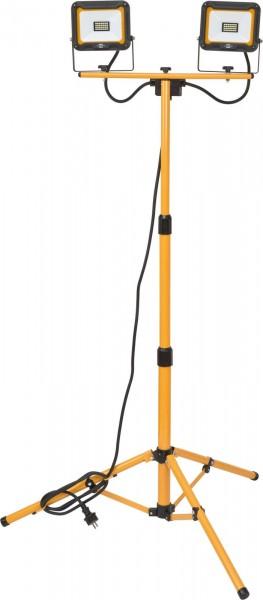 Brennenstuhl Treppiede con faro LED JARO 4000 T, 2x2930lm, 2x 20W, IP65- 1171250434