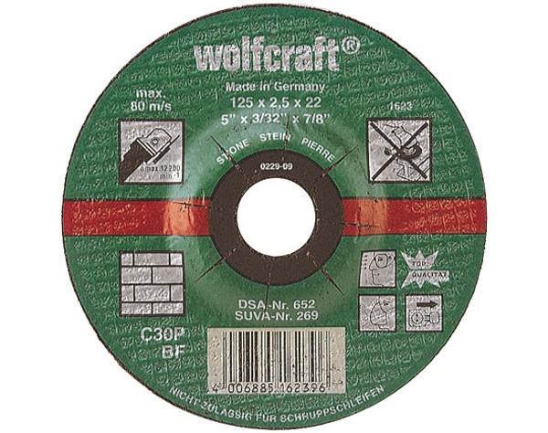 Wolfcraft 5 discos de tronzar, 115 mm - 1621300