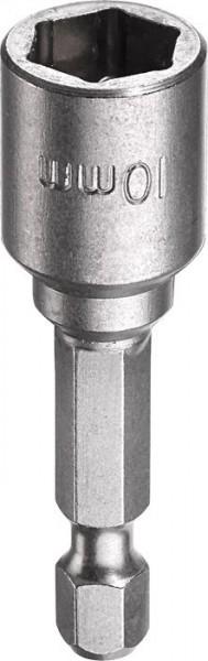 """KWB Zeskant-dopsleutel, 1/4"""" met E 6.3-schacht, 10 mm - 102710"""