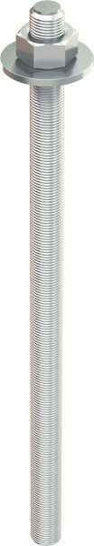 TOX Asta filettata Stix-VZ M16x190mm, zincata, 10 pezzi - 70101281