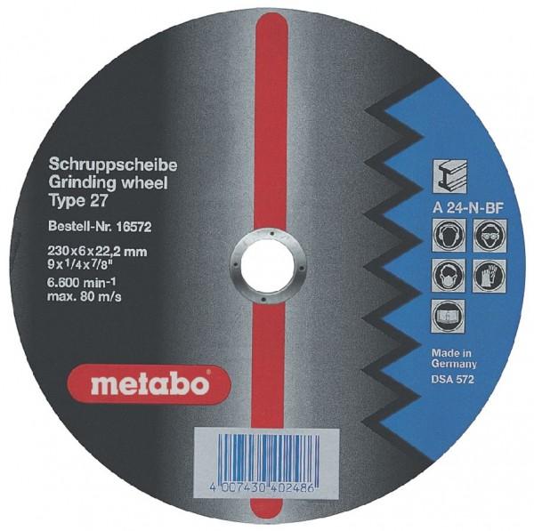 Metabo Trennscheibe Flexiamant 125x4,0x22,23 Stahl, SF 27