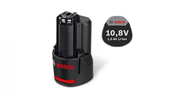 Bosch Professional Akkupack GBA 10,8 Volt / GBA 12 Volt, 1,5 Ah, O-A