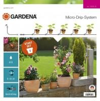 Gardena Micro-Drip-System Actie startset bloempotten S - 13000-20