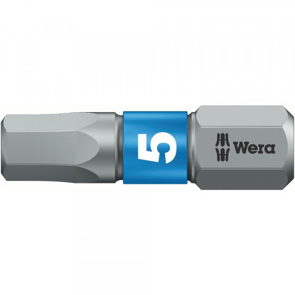 Wera 840/1 Embouts Hex-Plus BTZ, 2,5 x 25 mm - 05056682001
