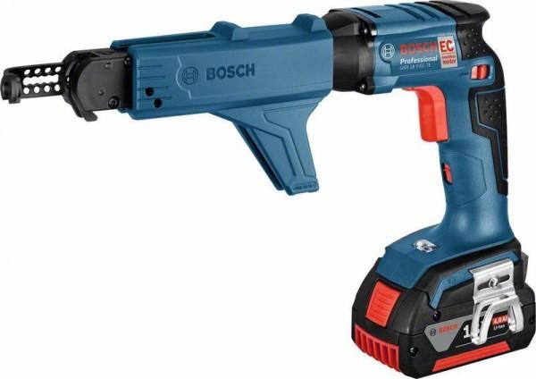 Bosch Avvitatore per cartongesso a batteria GSR 18 V-EC TE + MA 55