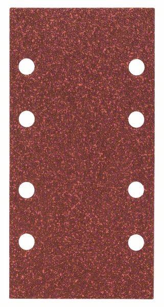 Bosch Feuille abrasive C430, pack de 10, 8 trous, 93 x 186 mm, 60 - 2608605303