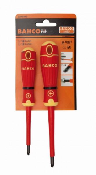 Bahco Assortimento cacciavite BahcoFit isolati, 2 pezzi - B220.012