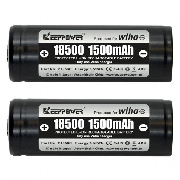 Wiha Set batteria 18500 ioni di litio - 599001