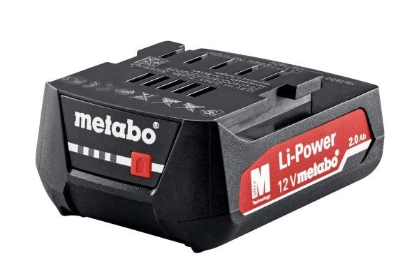 """Metabo Akkupack 12 V, 2,0 Ah, Li-Power, """"AIR COOLED"""" - 625406000"""